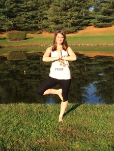 Finding literal and figurative balance in tree pose