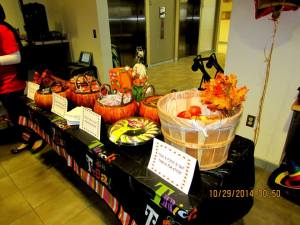 Candy and treats were as bountiful as a fall harvest.
