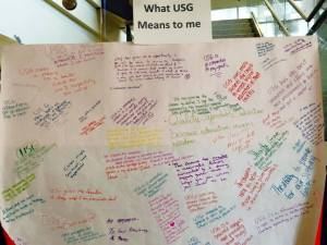What USG Means to Me Board