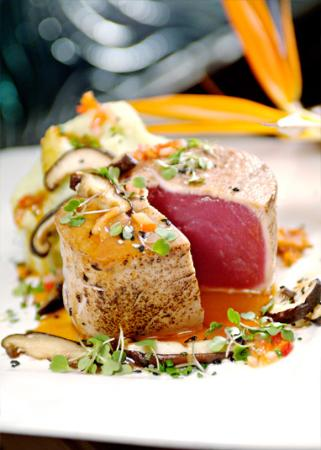 The best prime seafood available artfully hand sculpted.  Simply the best.