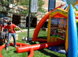 Brilliant idea to bring a Carnival theme to this year's USG Fall Festival
