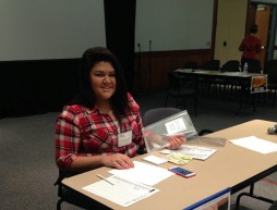 Christine Thinn at the Poverty Simulation