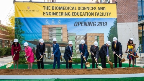 Universities at Shady Grove (USG) STEMM building groundbreaking