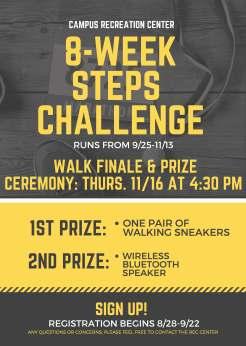 8 Week Steps Challenge 2017
