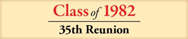 Reunion Banner 1982
