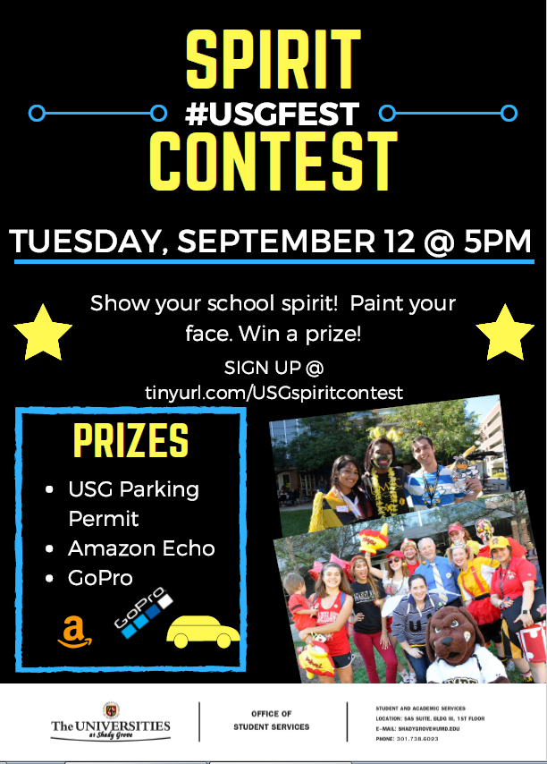 USG Spirit Contest