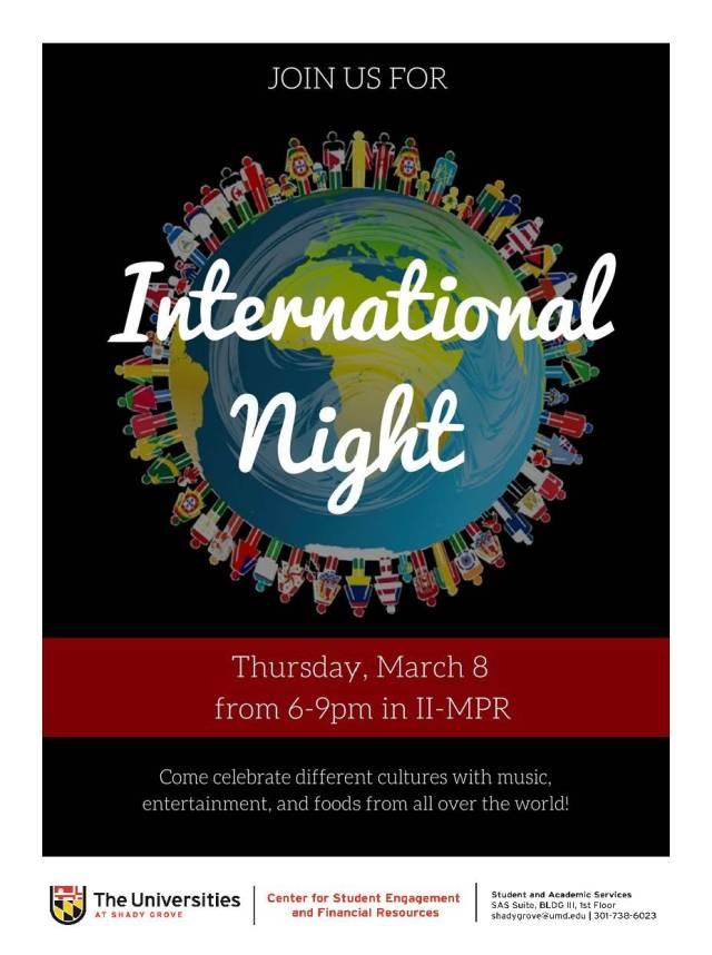 International night 2018