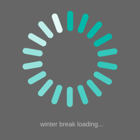 winter break loading
