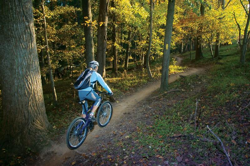 Mountain Biking in Seneca Creek State Park